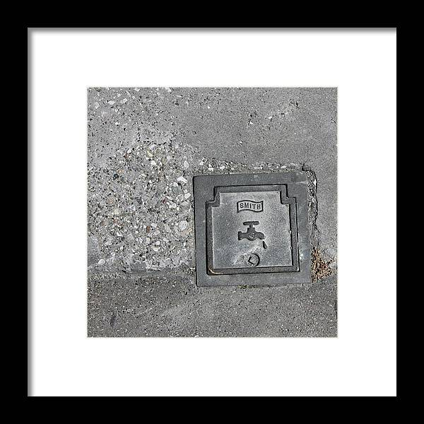 Photograph Framed Print featuring the photograph One Drop by Richard Wetterauer