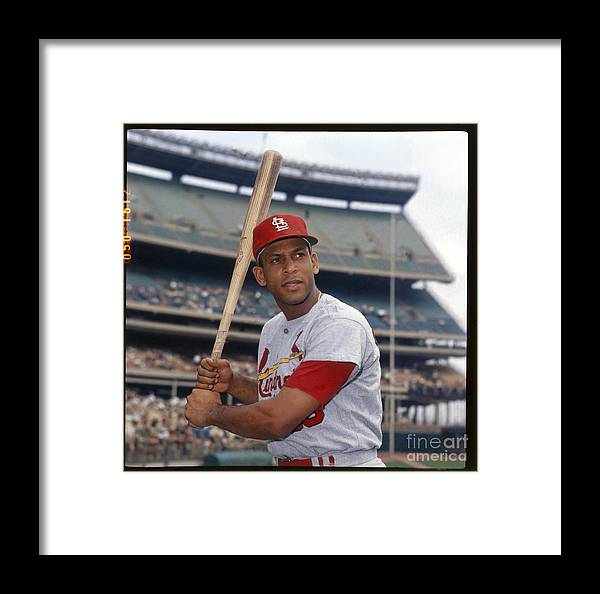 St. Louis Cardinals Framed Print featuring the photograph Orlando Cepeda by Louis Requena