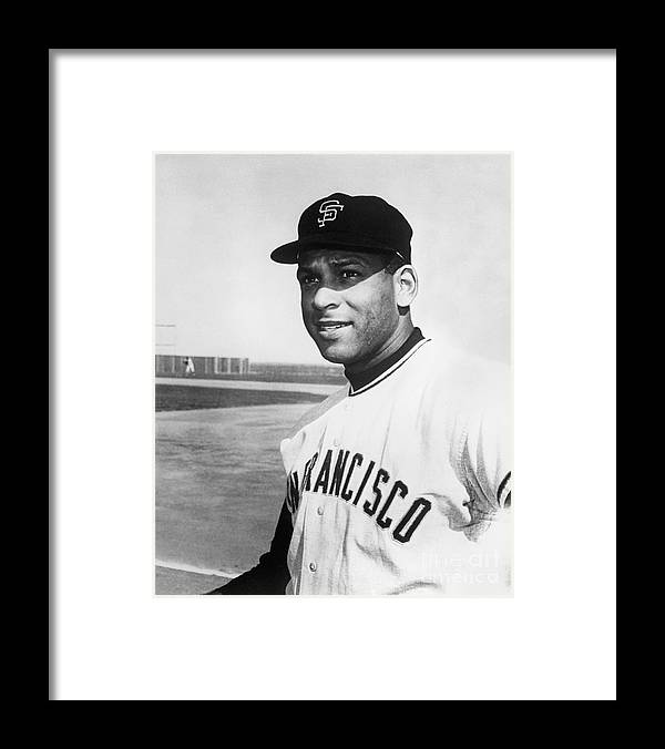 1950-1959 Framed Print featuring the photograph Orlando Cepeda by National Baseball Hall Of Fame Library