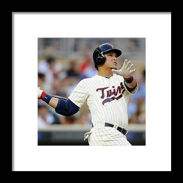 Oswaldo Arcia Framed Print featuring the photograph Oswaldo Arcia by Hannah Foslien
