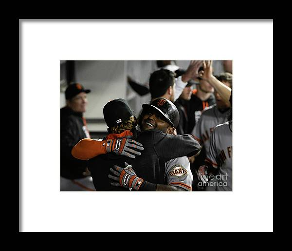 American League Baseball Framed Print featuring the photograph Pablo Sandoval by David Banks