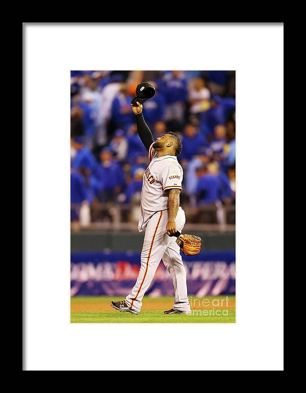 People Framed Print featuring the photograph Pablo Sandoval by Dilip Vishwanat