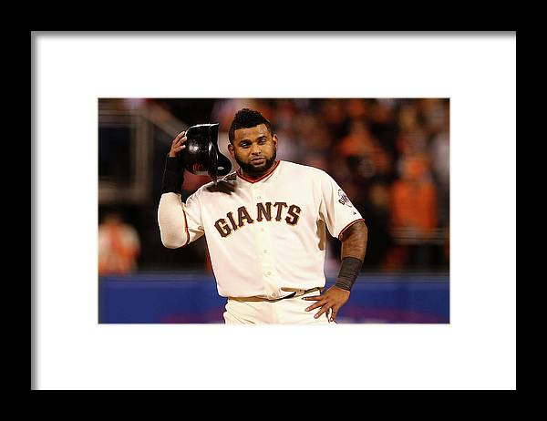 San Francisco Framed Print featuring the photograph Pablo Sandoval by Elsa