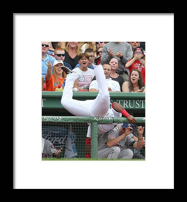 People Framed Print featuring the photograph Pablo Sandoval by Jim Rogash