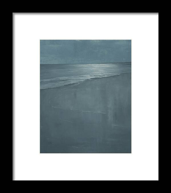 Framed Print featuring the painting Pacific by Mary Jo Van Dell
