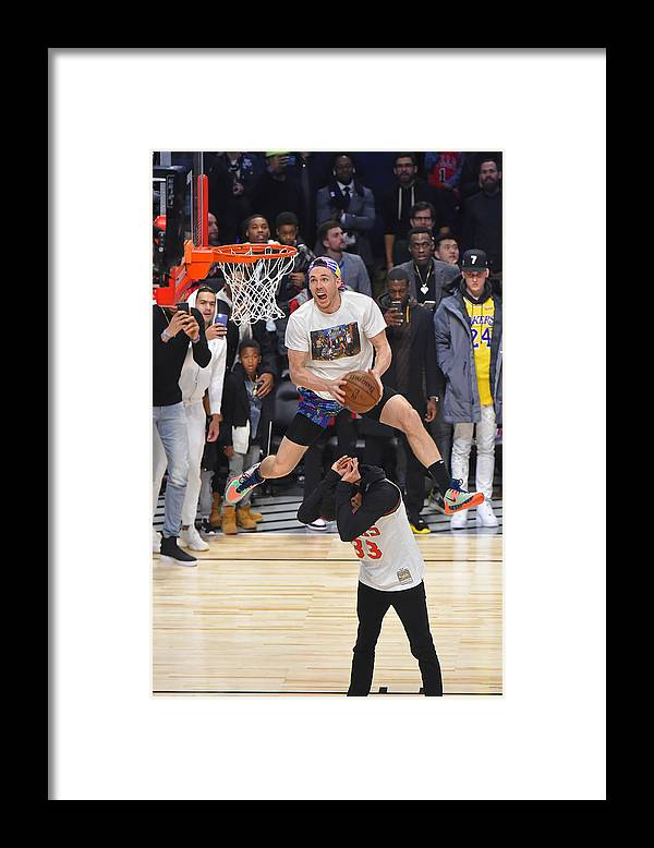 Nba Pro Basketball Framed Print featuring the photograph Pat Connaughton by Bill Baptist