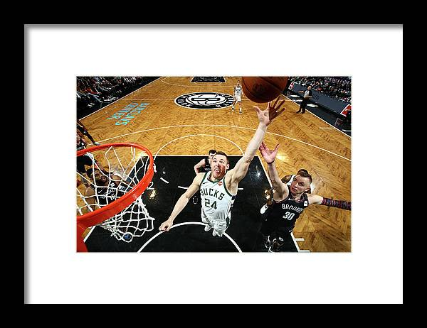 Nba Pro Basketball Framed Print featuring the photograph Pat Connaughton by Nathaniel S. Butler