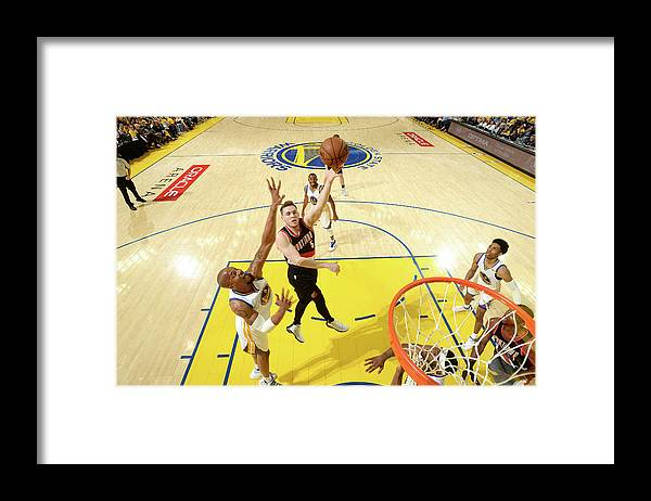 Playoffs Framed Print featuring the photograph Pat Connaughton by Noah Graham