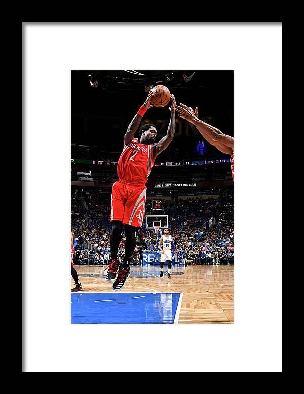 Nba Pro Basketball Framed Print featuring the photograph Patrick Beverley by Fernando Medina