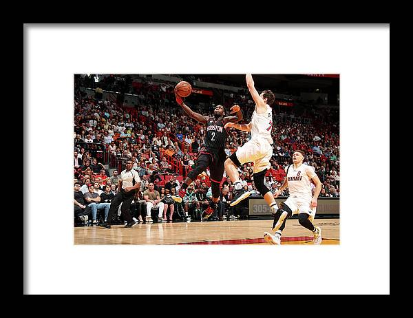 Nba Pro Basketball Framed Print featuring the photograph Patrick Beverley by Issac Baldizon