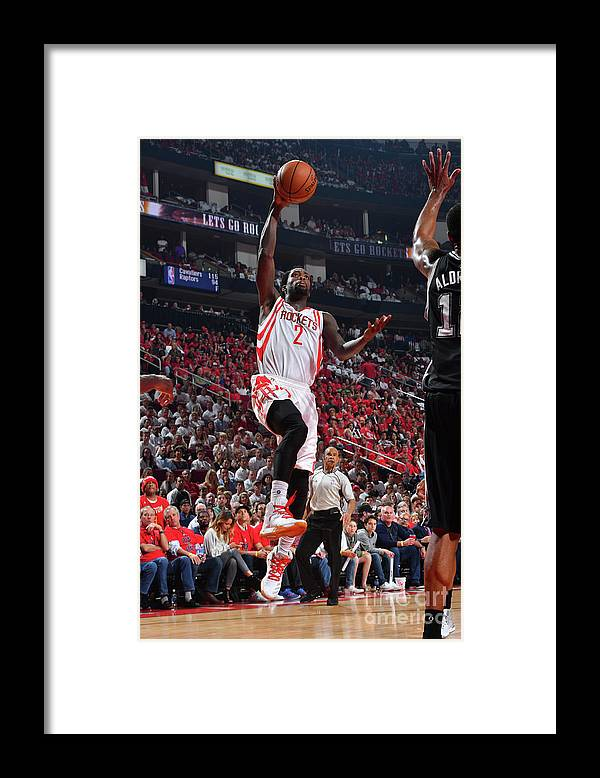 Playoffs Framed Print featuring the photograph Patrick Beverley by Jesse D. Garrabrant