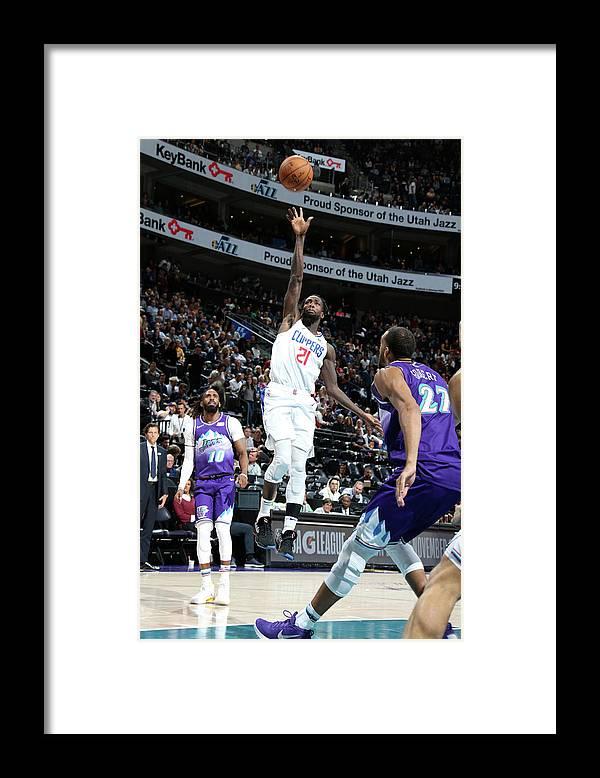 Nba Pro Basketball Framed Print featuring the photograph Patrick Beverley by Melissa Majchrzak