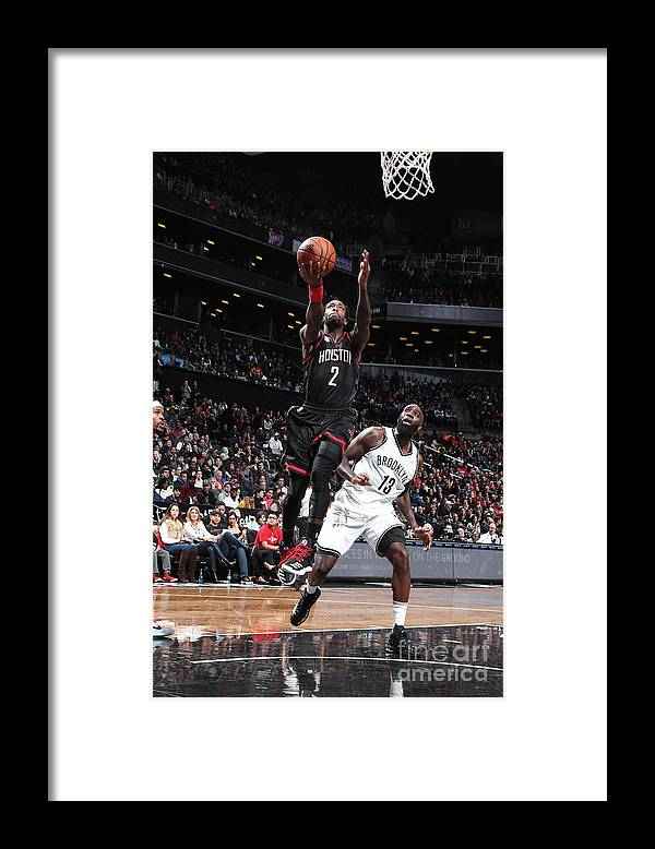 Nba Pro Basketball Framed Print featuring the photograph Patrick Beverley by Nathaniel S. Butler