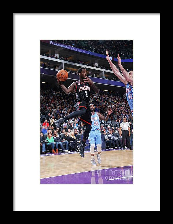 Nba Pro Basketball Framed Print featuring the photograph Patrick Beverley by Rocky Widner