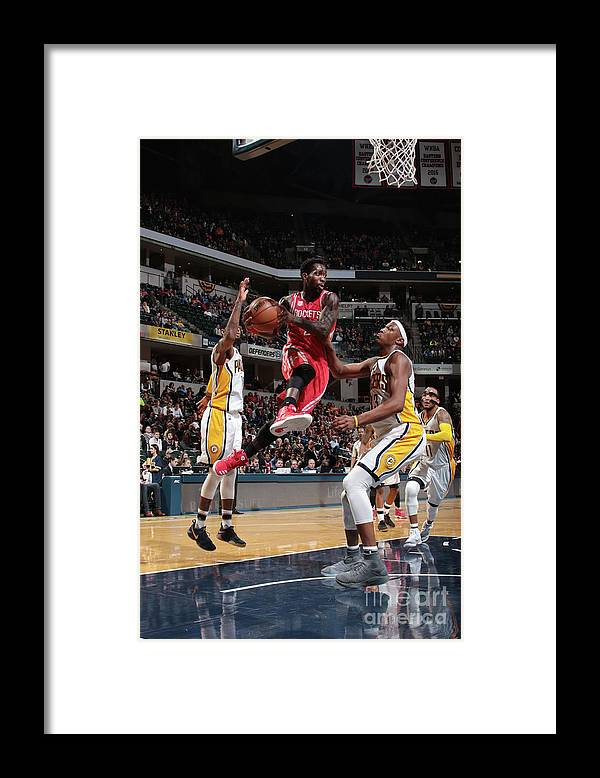 Nba Pro Basketball Framed Print featuring the photograph Patrick Beverley by Ron Hoskins