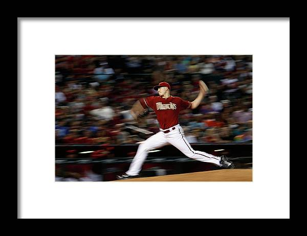 People Framed Print featuring the photograph Patrick Corbin by Christian Petersen