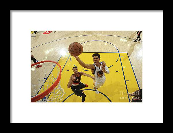 Playoffs Framed Print featuring the photograph Patrick Mccaw by Garrett Ellwood