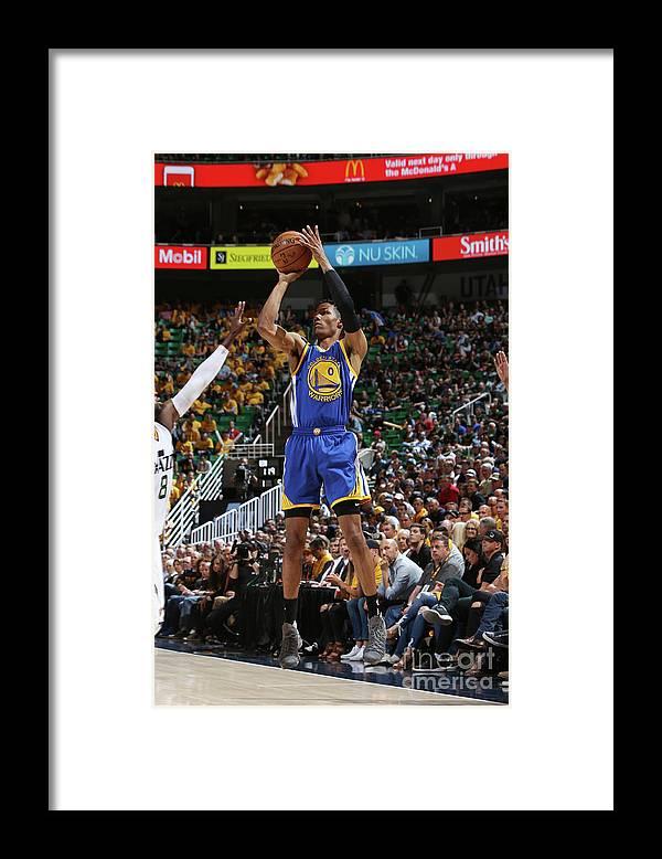 Playoffs Framed Print featuring the photograph Patrick Mccaw by Melissa Majchrzak