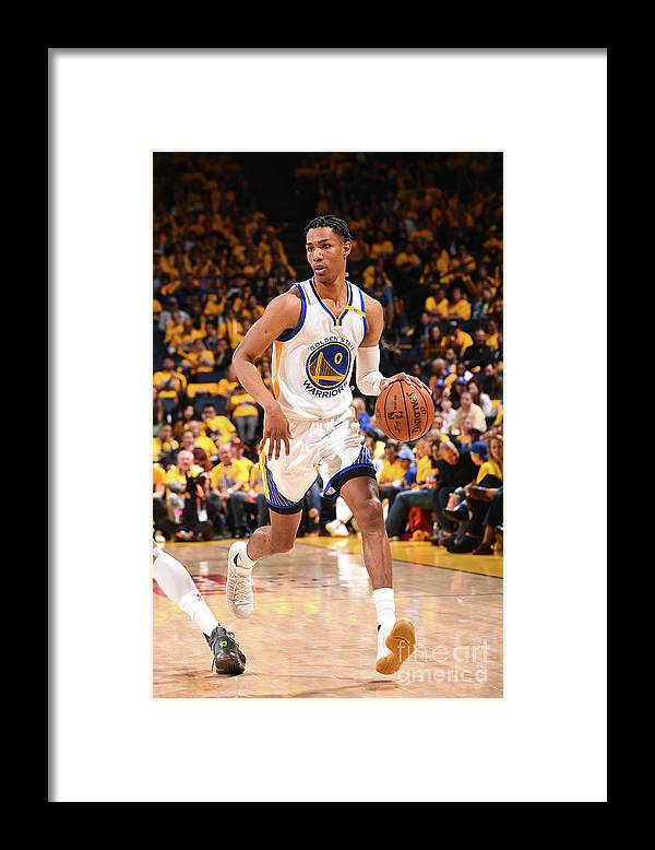 Playoffs Framed Print featuring the photograph Patrick Mccaw by Noah Graham