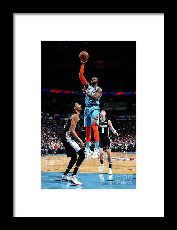 Patrick Patterson Framed Print featuring the photograph Patrick Patterson by Zach Beeker