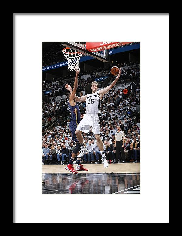 Nba Pro Basketball Framed Print featuring the photograph Pau Gasol by Chris Covatta