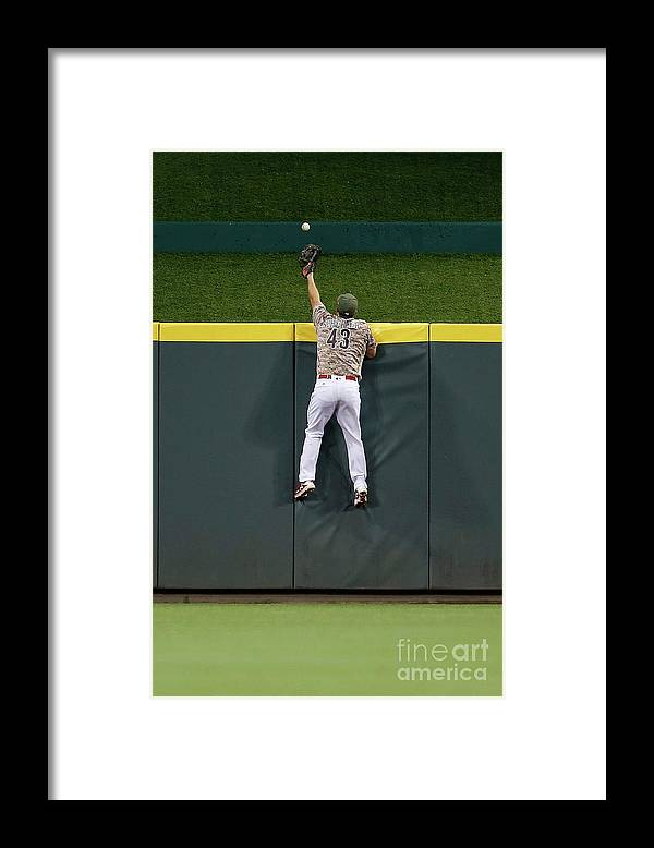 Great American Ball Park Framed Print featuring the photograph Paul Dejong and Scott Schebler by Kirk Irwin