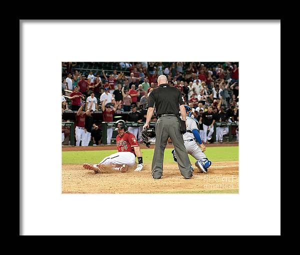 American League Baseball Framed Print featuring the photograph Paul Goldschmidt by Darin Wallentine