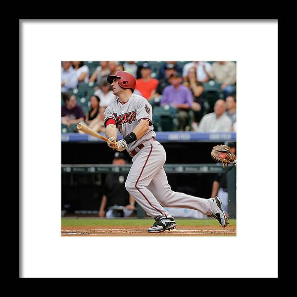 People Framed Print featuring the photograph Paul Goldschmidt by Doug Pensinger
