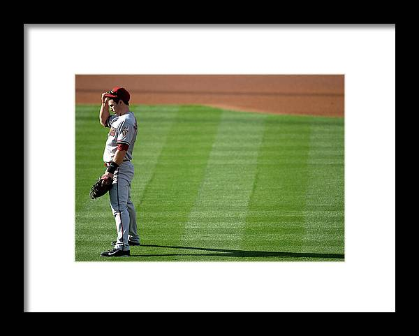 American League Baseball Framed Print featuring the photograph Paul Goldschmidt by Harry How