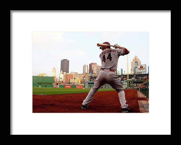 Professional Sport Framed Print featuring the photograph Paul Goldschmidt by Justin K. Aller