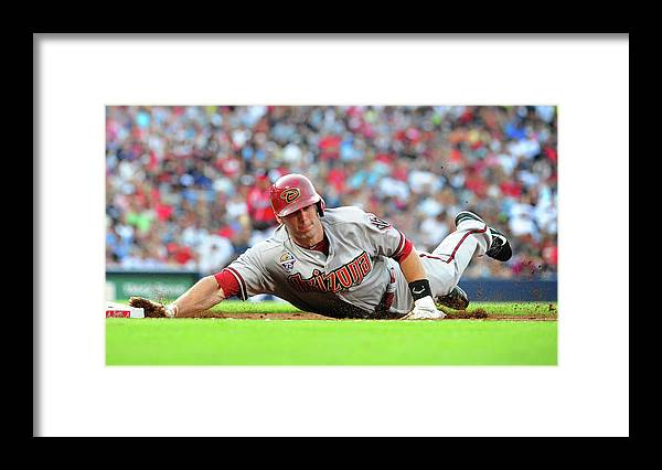 Atlanta Framed Print featuring the photograph Paul Goldschmidt by Scott Cunningham