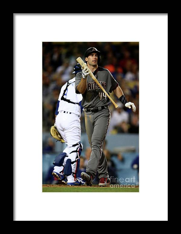 People Framed Print featuring the photograph Paul Goldschmidt by Sean M. Haffey