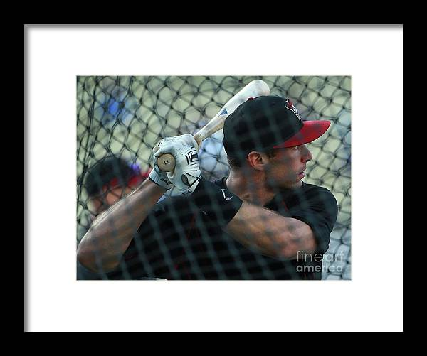People Framed Print featuring the photograph Paul Goldschmidt by Victor Decolongon