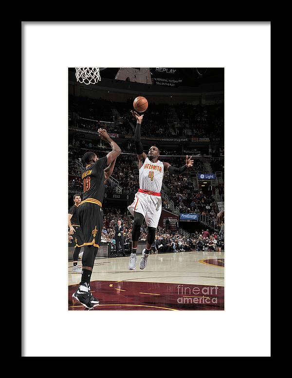 Nba Pro Basketball Framed Print featuring the photograph Paul Millsap by David Liam Kyle