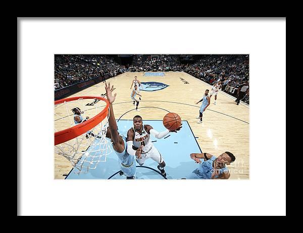 Nba Pro Basketball Framed Print featuring the photograph Paul Millsap by Joe Murphy