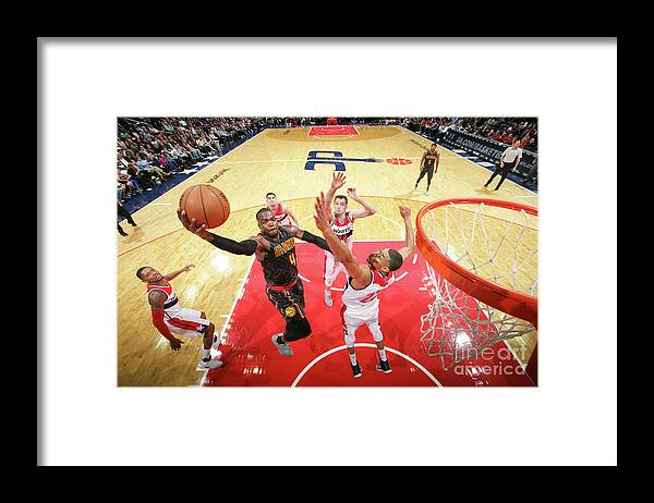 Nba Pro Basketball Framed Print featuring the photograph Paul Millsap by Ned Dishman