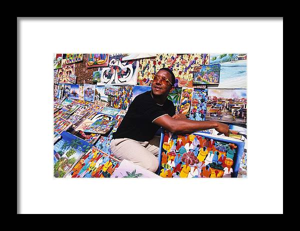 Santo Domingo Framed Print featuring the photograph Pedro Martinez by Ronald C. Modra/sports Imagery