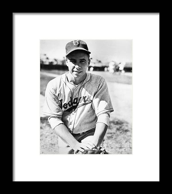 People Framed Print featuring the photograph Pee Wee Reese by National Baseball Hall Of Fame Library