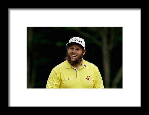 People Framed Print featuring the photograph PGA Championship - Round Three by Andy Lyons