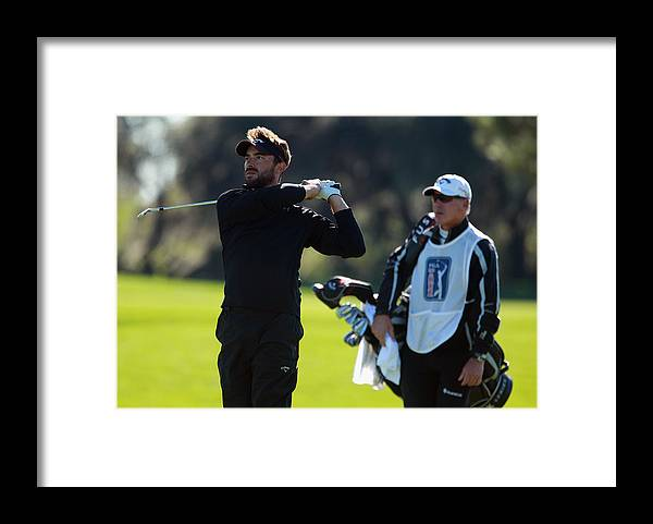 Winter Garden Framed Print featuring the photograph PGA Tour Qualifying Tournament - Final Round by Scott Halleran