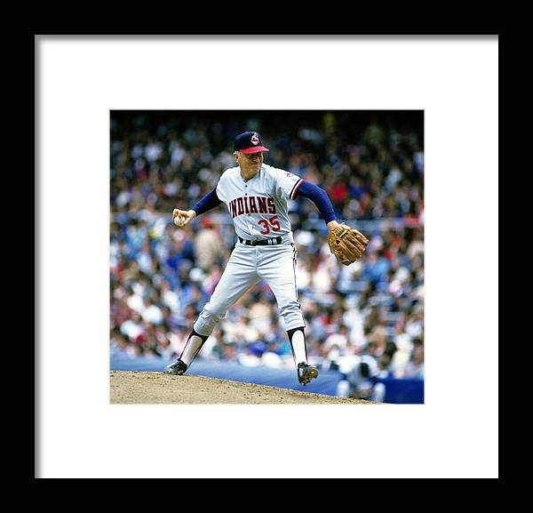 1980-1989 Framed Print featuring the photograph Phil Niekro by Ronald C. Modra/sports Imagery