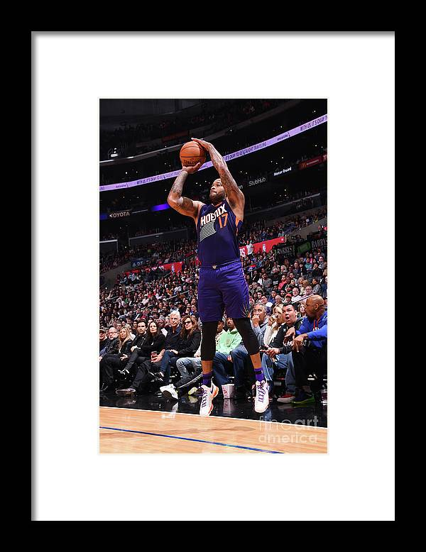 Nba Pro Basketball Framed Print featuring the photograph P.j. Tucker by Juan Ocampo