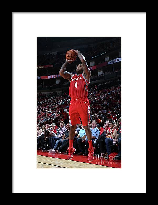 Nba Pro Basketball Framed Print featuring the photograph P.j. Tucker by Layne Murdoch