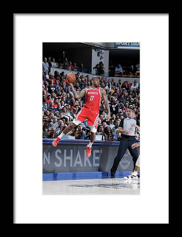 Nba Pro Basketball Framed Print featuring the photograph P.j. Tucker by Ron Hoskins