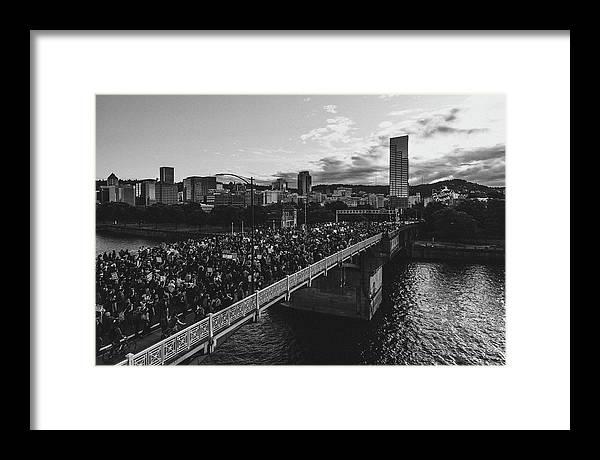 Portland Protests #4 by Andrew Wallner
