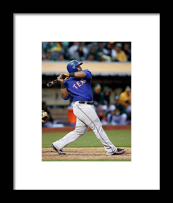 People Framed Print featuring the photograph Prince Fielder by Ezra Shaw