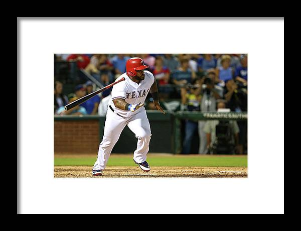 People Framed Print featuring the photograph Prince Fielder by Sarah Crabill