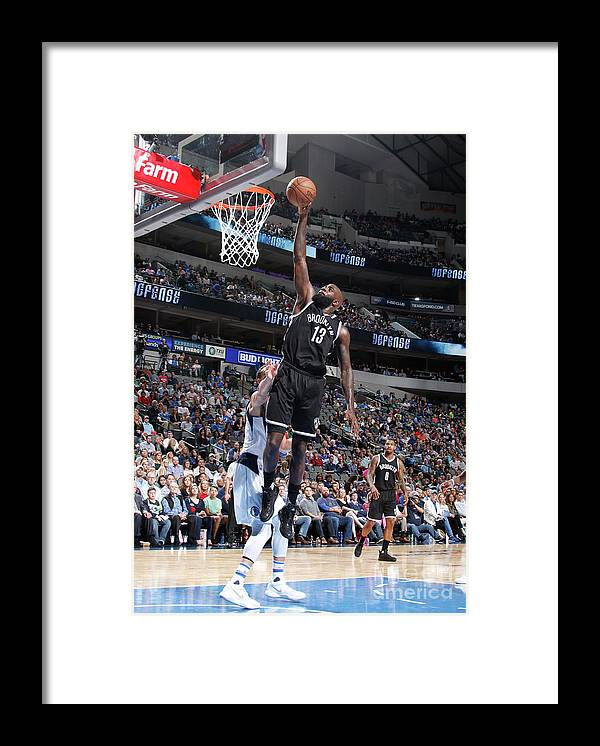 Nba Pro Basketball Framed Print featuring the photograph Quincy Acy by Danny Bollinger