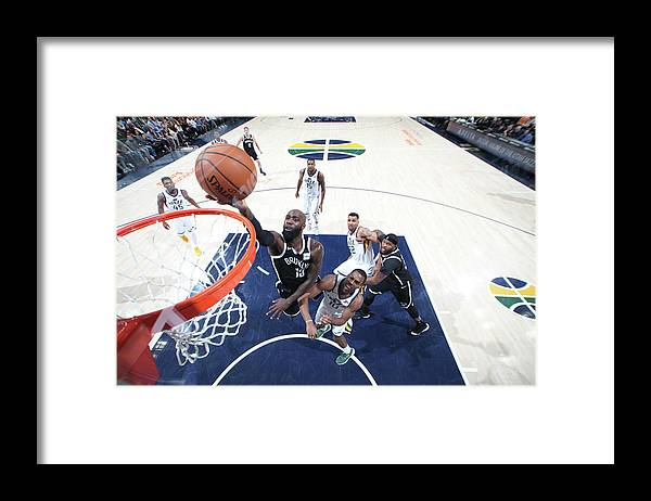 Nba Pro Basketball Framed Print featuring the photograph Quincy Acy by Melissa Majchrzak