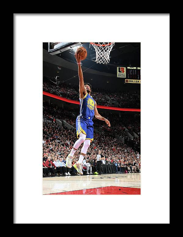 Nba Pro Basketball Framed Print featuring the photograph Quinn Cook by Andrew D. Bernstein